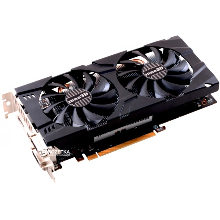 Видеокарта Inno3D GeForce GTX 1060 3GB Twin X2